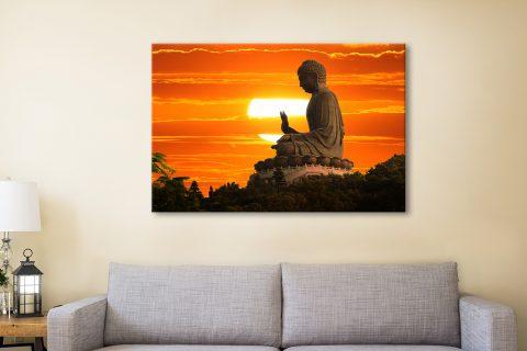 Tian tan buddha Canvas Artwork