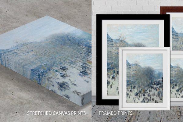 Claude Monet Boulevard des Capucines Quality Print