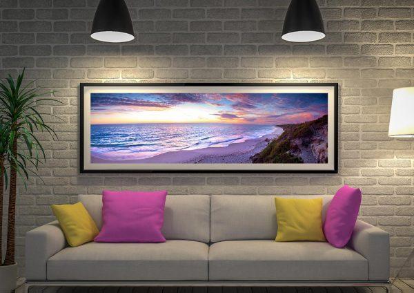 Buy a Jindalee Sunset Panoramic Print