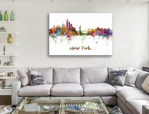 New York Skyline Canvas Art Online