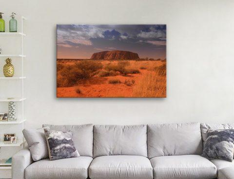 Uluru Canvas Artwork
