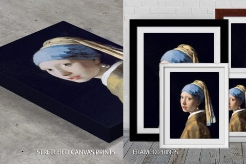 The Girl With The Pearl Earring Quality Print