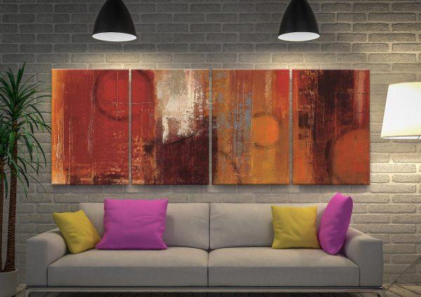 Pentatonic Abstract Art Multi-Panel Set
