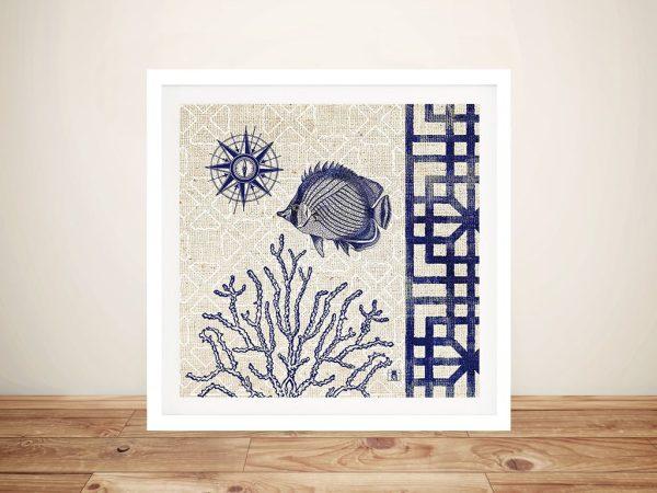 Seashore Shell ll Cheap Canvas Art