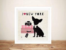 New York Pooch Pop Art
