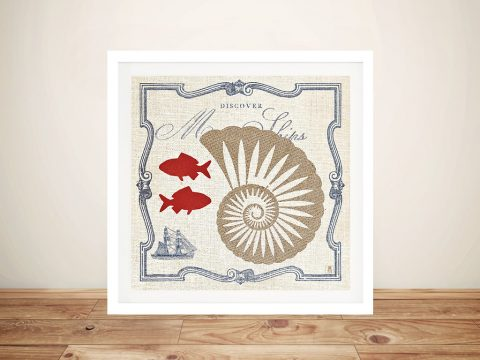 Pacific - Nautilus Canvas Wall Art