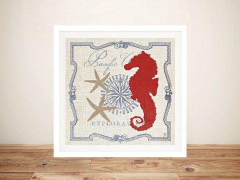 Pacific - Seahorse Pop Art