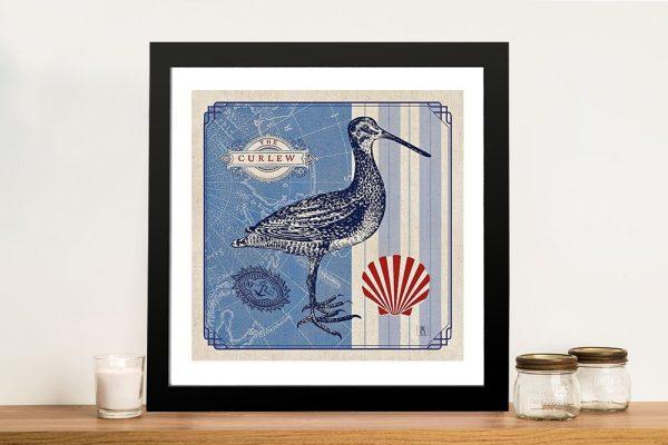 Sea Bird - Curlew Wonderful Wall Art