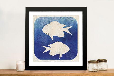 Watermark - Fish Wall Art