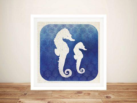 Watermark - Seahorse Pop Art