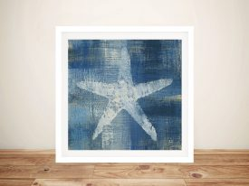 Batik Seas ll - Starfish Wall Art