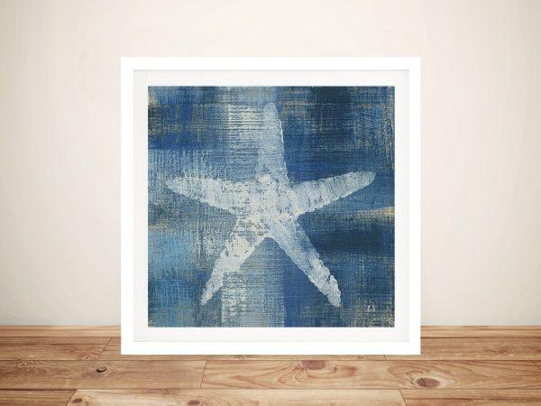 Batik Seas ll - Starfish Wall Art