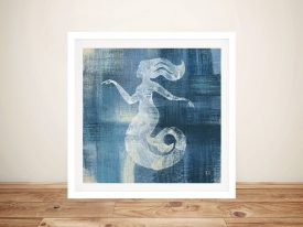 Batik Seas lV - Mermaid Canvas Prints