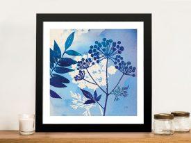 Blue Sky Garden l Wall Art