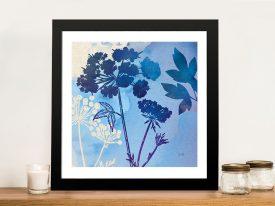 Blue Sky Garden lll Cheap Canvas Printing