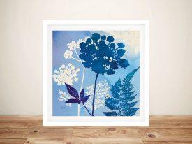 Blue Sky Garden lV Canvas Prints Online