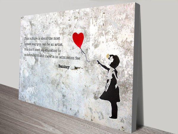 Fantastic Banksy Wall Art Ideal Gift