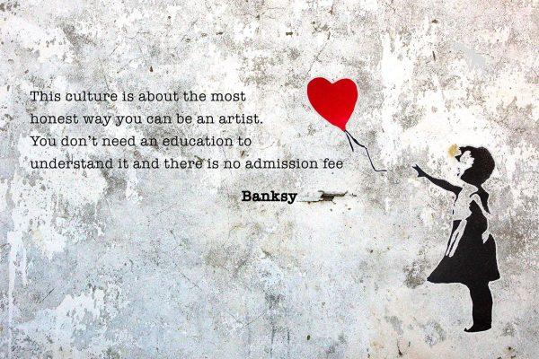 Banksy Wall Art Makes Perfect Presents