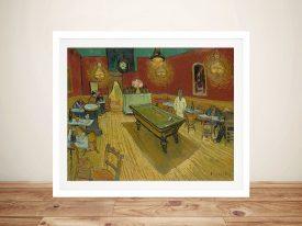 Le Café De Nuit Classic Art Wall Print