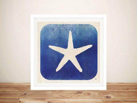 Watermark - Starfish Canvas Art