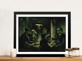 The Potato Eaters Classic Art Prints Online
