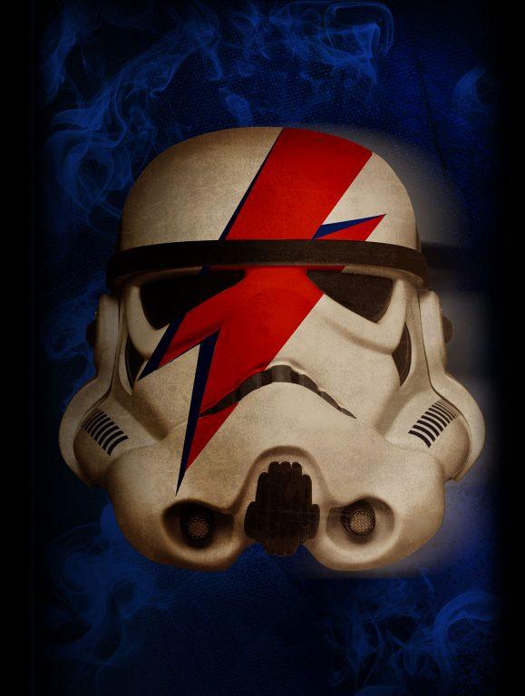 Ziggy Stardust StormTrooper Canvas Print