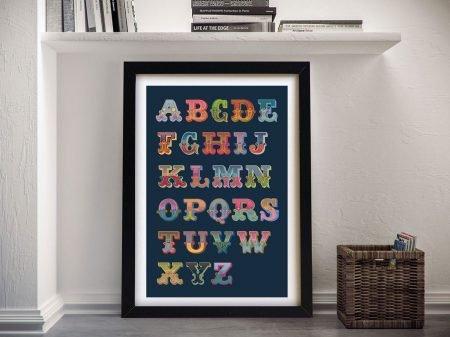 Carnival-Letters-Full-Set-Canvas-Wall-Art