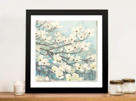 Dogwood Blossoms ll By James Wiens Wall Art