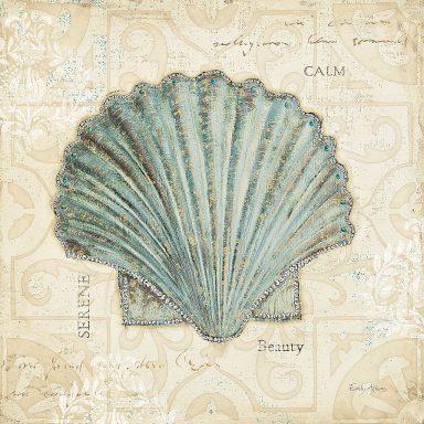 Shabby Chic Vintage Inspired Sea Shells