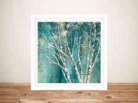 Blue Birch By Julia Purinton Canvas Art