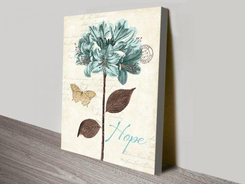 Dazzling Floral Canvas Prints Online