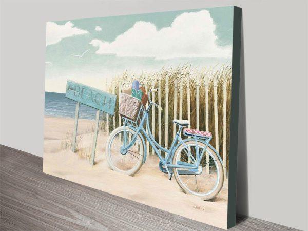Nostalgic-Beach-Scene-Wall-Art-By James Wiens
