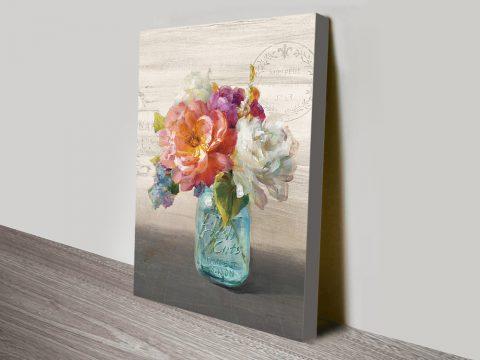 Beautiful Still Life Flowers Wall Art