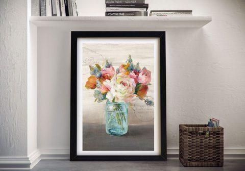 French Cottage Bouquet ll Canvas Prints