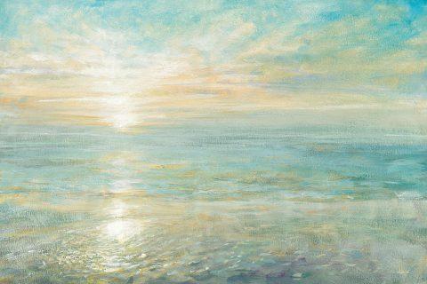 Breath Taking Sunrise Print On Canvas