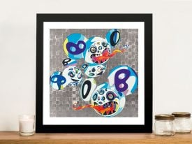 Melting DOB Complex Blue - Takashi Murakami Pop Art