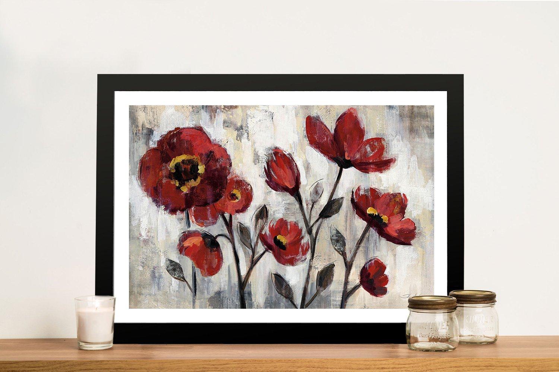 Floral Simplicity By Silvia Vasileva Cheap Canvas Prints