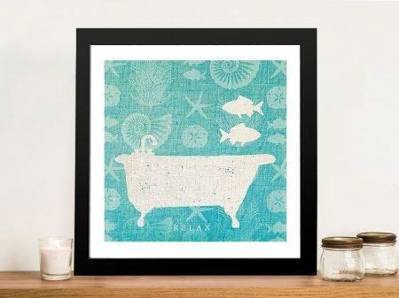 Pacific Bath l Canvas Prints Online