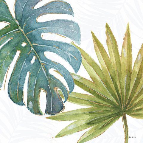 Mesmerising Lush Green Tropical Leaves Canvas Prints