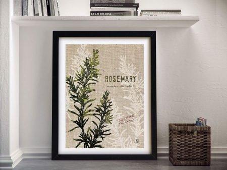 Culinary Art - Rosemary Wall Art