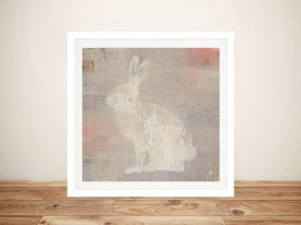 Lodge Fauna - Rabbit Best Canvas Prints
