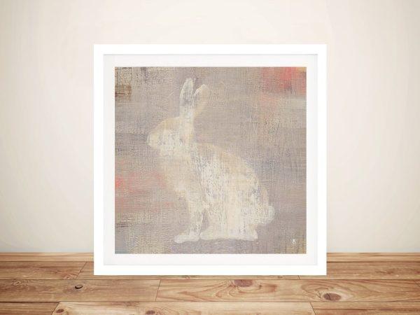 Lodge Fauna - Rabbit Best Canvas Prints