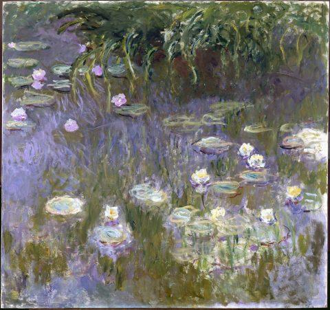 Beautiful Canvas Wall Art By Monet