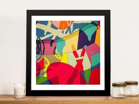 Clash By KAWS Canvas Art
