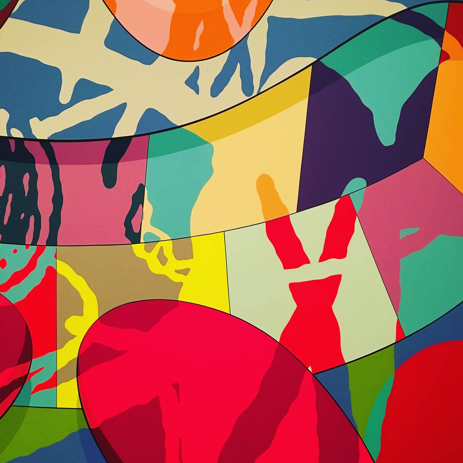 Clash By KAWS Canvas Art   Pop Art Felixstowe Adelaide Australia