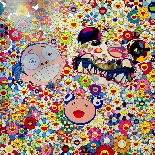 Takashi Murakami Me and Double- DOB