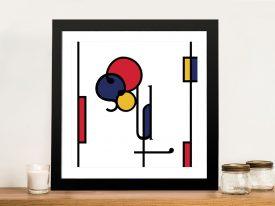Futuracha - Soul Mondrian Typography Canvas Wall Art