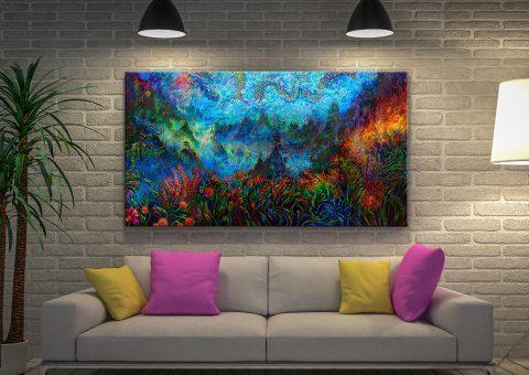 Buy Iris Scott Colourful Wall Art Great Gift Ideas