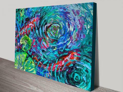 Vibrant Canvas Wall Art Gift Idea