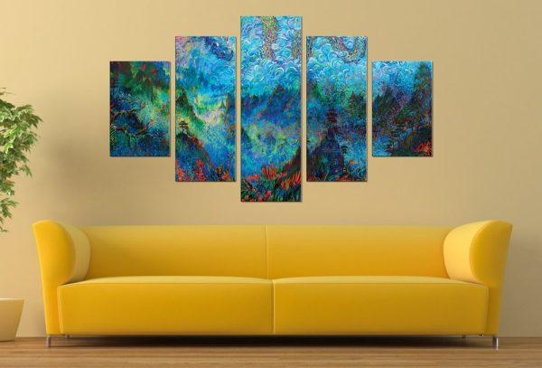 Stormy Splendor - Iris Scott Five Panel Set
